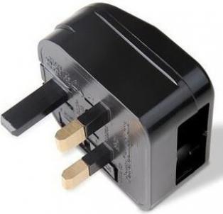 adaptateur permanent pour prise anglaise adapt pour prise. Black Bedroom Furniture Sets. Home Design Ideas