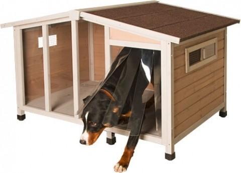 Caseta para perros overwiew casetas for Caseta perro pvc