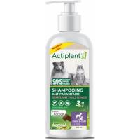ACTI Shampoo 2en1 anti parasitaire et démêlant poil long Choco