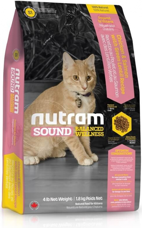 NUTRAM Sound Balances Wellness S1 pour chatons