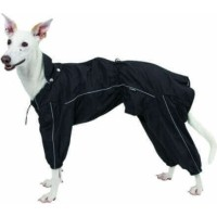 Ciré / imperméable intégral Manchester noir pour chien
