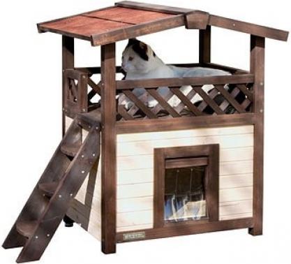 Maison pour chat 4-Seasons Deluxe 88 x 57 x 77 cm