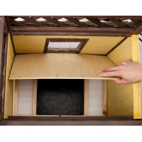 Maison pour chat 4-Seasons Deluxe 88 x 57 x 77 cm (2)