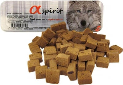 ALPHA SPIRIT Snacks Dog semi húmedos en trozos