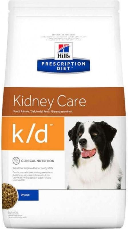 HILL'S Prescription Diet K/D Kidney Care pour chien adulte