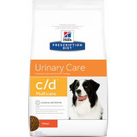 HILL'S Prescription Diet C/D urinary Multicare pour chien adulte