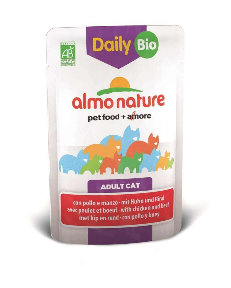 Daily Menu Bio pour chat ALMO NATURE 70g_0