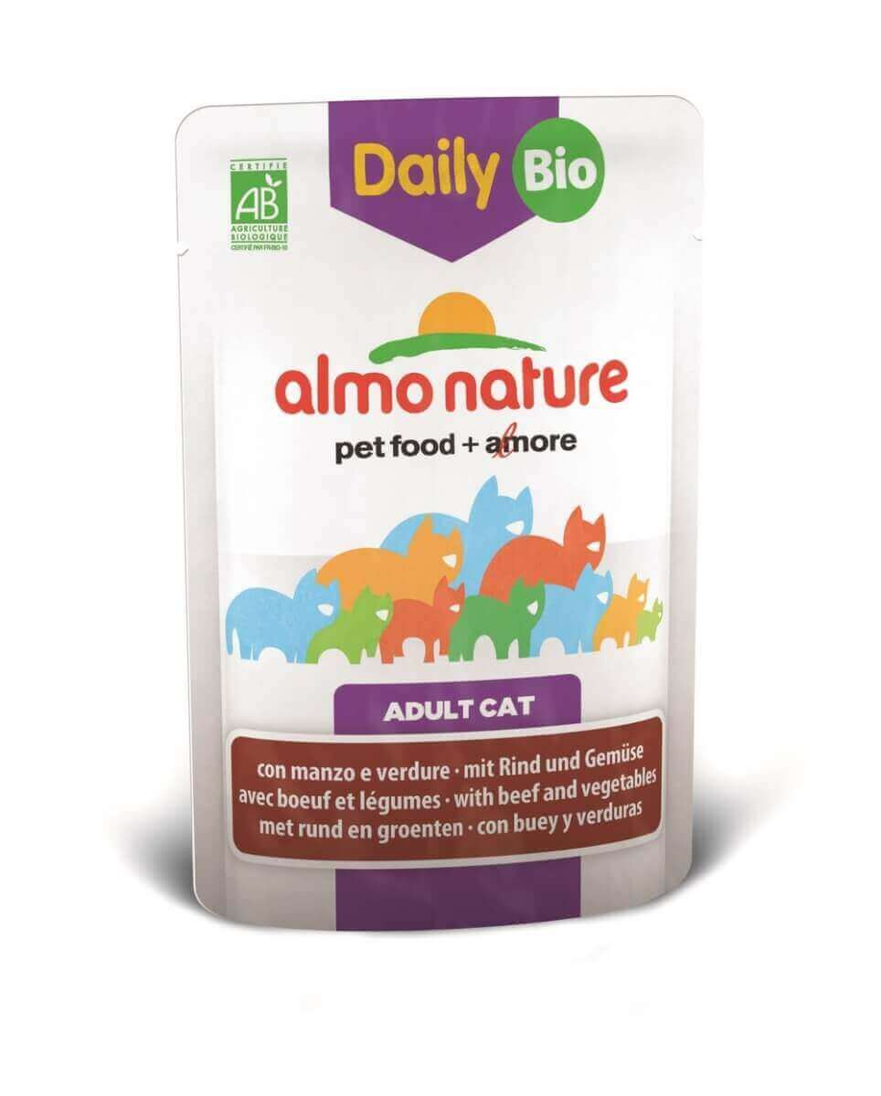 Daily Menu Bio pour chat ALMO NATURE 70g_1