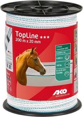 Ruban de clôture TopLine  200 m TRICOND