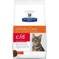 HILL'S Prescription Diet Feline C/D Urinary Stress au Poulet pour chat adulte