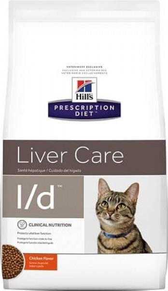 HILL'S Prescription Diet L/D Liver care pour chat adulte