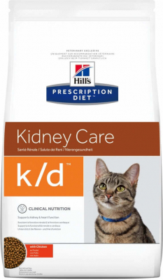 HILL'S Prescription Diet Feline K/D Insuficiencia renal / cardíaca