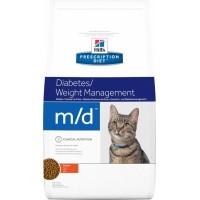 HILL'S Prescription Diet M/D Diabetes & Weight Management pour chat adulte
