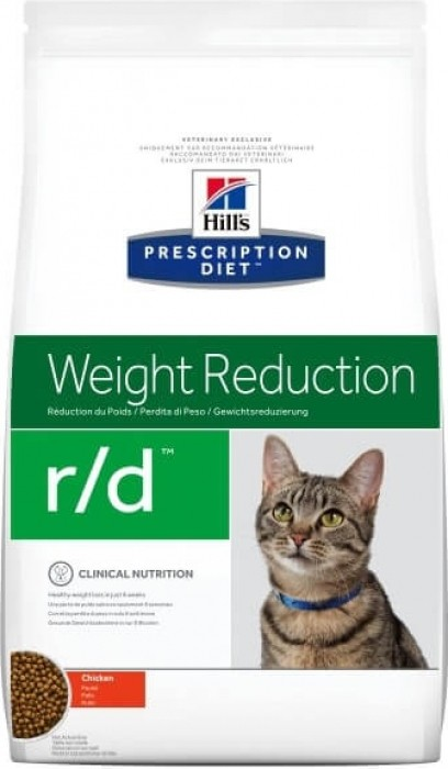 HILL'S Prescription Diet R/D Weight Reduction pour chat adulte