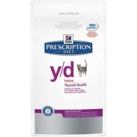 HILL'S Prescription Diet Y/D Thyroid Care pour chat adulte
