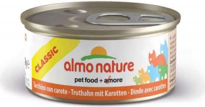 Pâtée Almo HFC Natural pour chat à la dinde