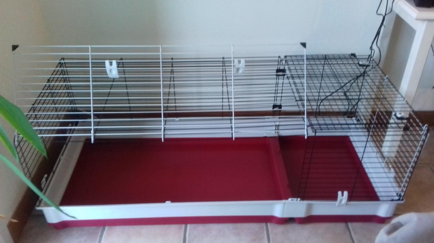cage ferplast krolik 140 pour lapin et cochon d 39 inde. Black Bedroom Furniture Sets. Home Design Ideas