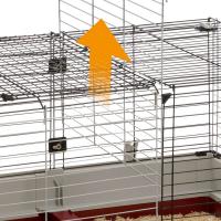 Cage Ferplast Krolik 160 pour lapin et cochon d'inde