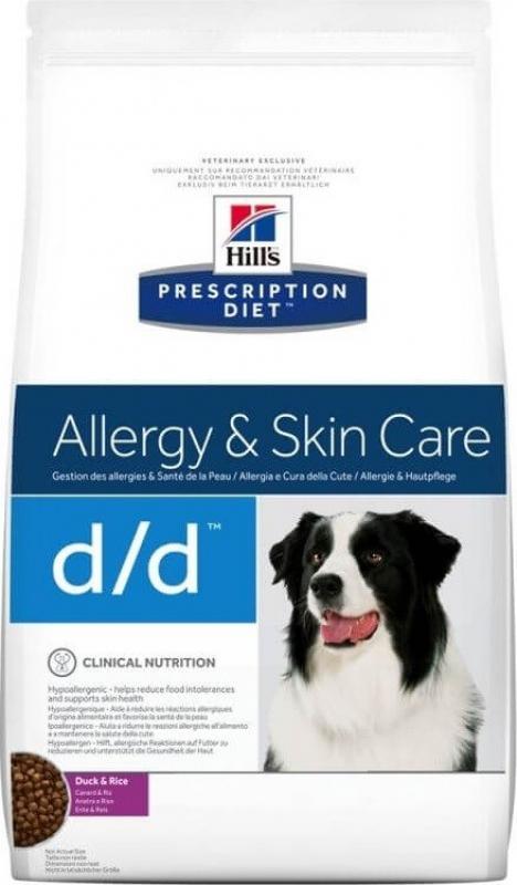 HILL'S Prescription Diet D/D Food Sensitivities pour chien adulte
