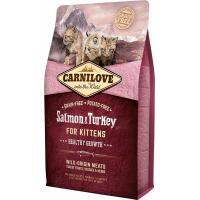 Carnilove Kitten salmón y pavo para gatitos