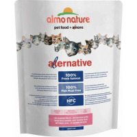 ALMO NATURE Alternative Dry SAUMON & RIZ pour Chat adulte