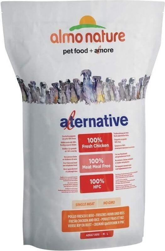 ALMO NATURE HFC Alternative au Poulet & Riz pour chien adulte