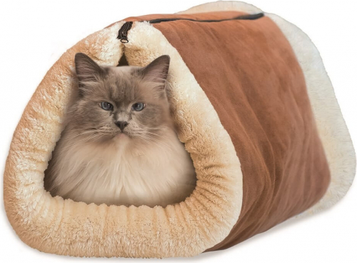 matelas tunnel 2 en 1 pour chat kitty shack couchage chat. Black Bedroom Furniture Sets. Home Design Ideas