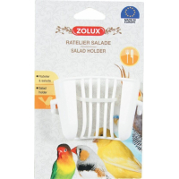 Comedero de plástico blanco para ensalada  (2)
