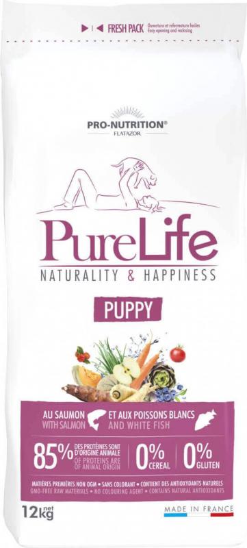 PRO-NUTRITION Flatazor Pure Life Sans Céréales Puppy pour Chiot