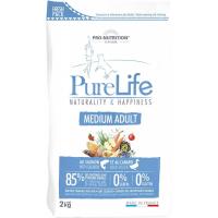 PRO-NUTRITION Flatazor Pure Life Sans Céréales Adult Medium pour Chien Adulte de Taille Moyenne