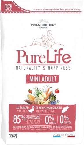 PRO-NUTRITION Flatazor Pure Life Sans Céréales Adult Mini pour Chien de Petie Taille