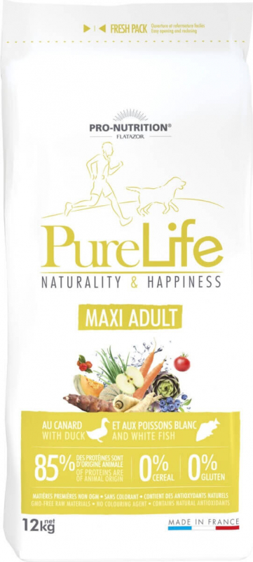 PRO-NUTRITION Flatazor Pure Life Sans Céréales Adult Maxi pour Chien de Grande Taille