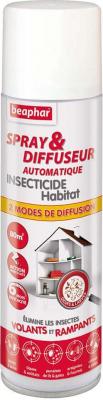 Spray & diffuseur automatique insecticide habitat