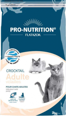 Flatazor Crocktail Chat Adulte Volailles