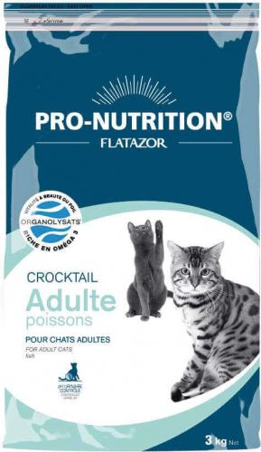 Flatazor Crocktail Chat Adulte Poissons