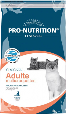 Flatazor Crocktail Chat Adulte Multicroquettes