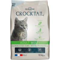 PRO-NUTRITION Flatazor CROCKTAIL Adult Multi Volaille & Légumes pour Chat Adulte