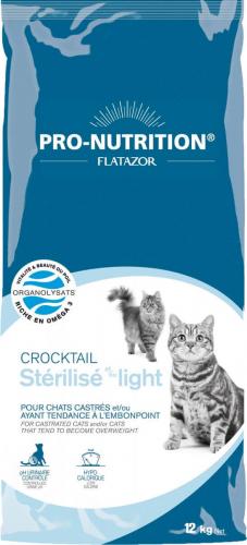 Flatazor Crocktail Chat Light ou stérilisé