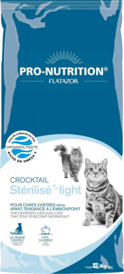 Flatazor Crocktail Chat Light ou stérilisé