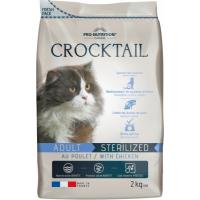 PRO-NUTRITION Flatazor CROCKTAIL Sterilized au Poulet pour Chat Adulte Stérilisé
