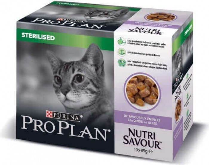 PRO PLAN Sterilised Pâtée en gelée pour chat stérilisé