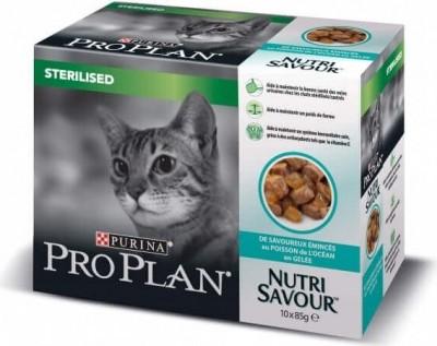 PRO PLAN Sterilised Paté para gatos esterilizados.