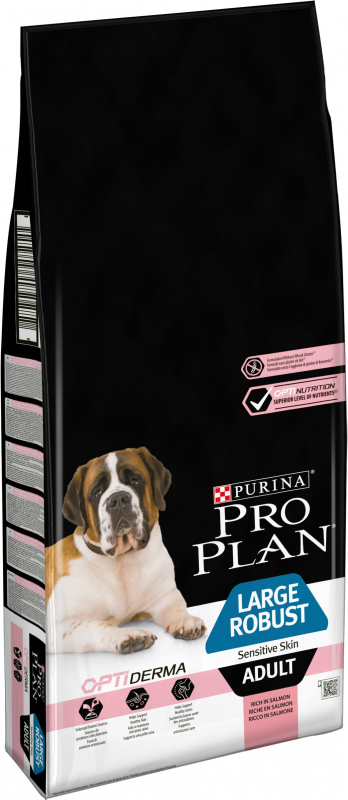 PRO PLAN Large Robust Adult Sensitive Skin au saumon