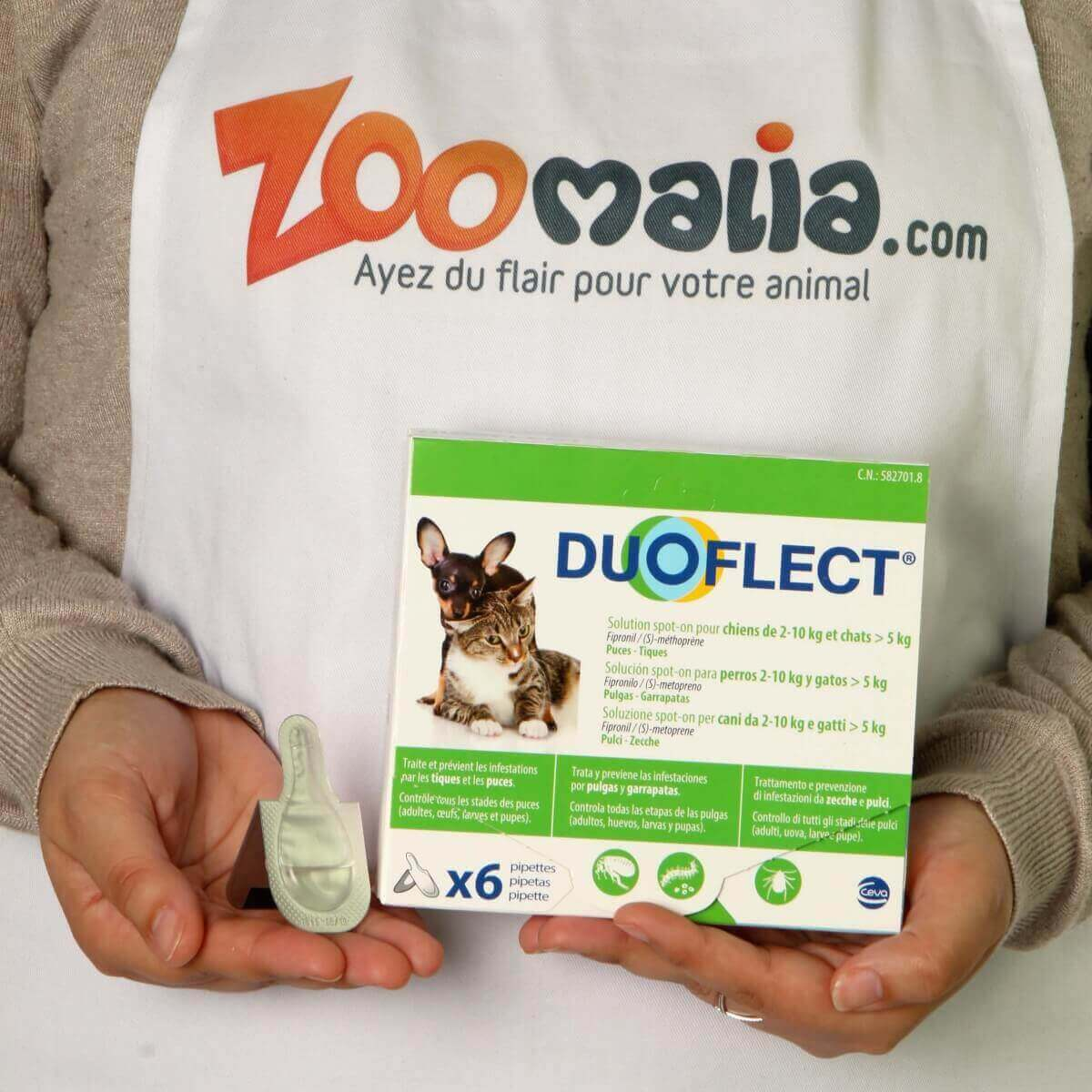 DUOFLECT Pipettes antiparasites pour chat_1