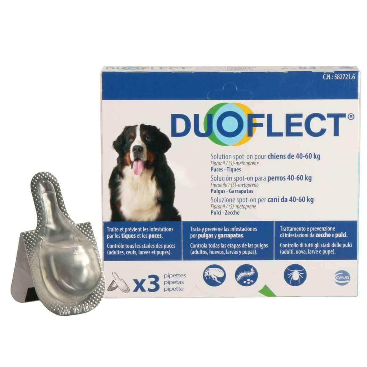 DUOFLECT Pipettes antiparasites pour chien _3
