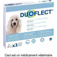 DUOFLECT Pipettes antiparasites pour chien