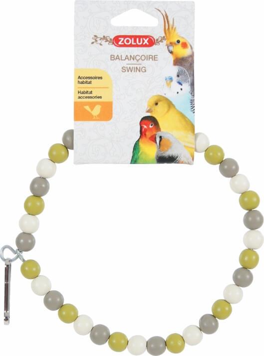 Balançoire collier perle