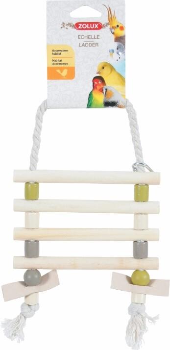 leiter aus kordeln und leder verschiedene farben vogelzubeh r. Black Bedroom Furniture Sets. Home Design Ideas