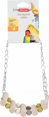 Suspension bois + chaîne