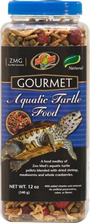 Aliment GOURMET pour tortue aquatique
